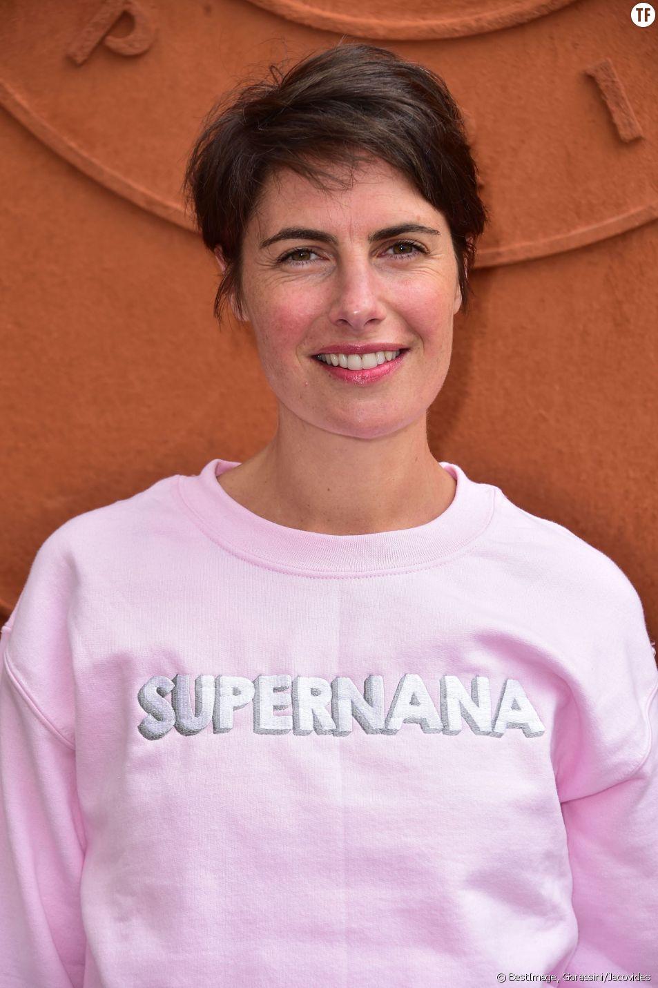 Alessandra Sublet à Roland Garros