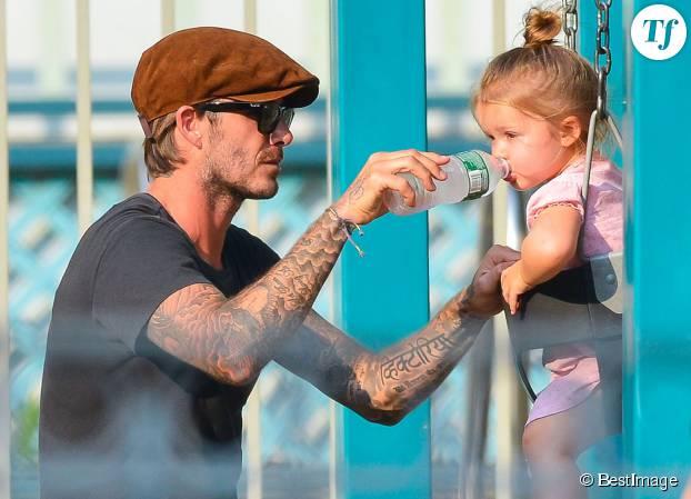 David Beckham, icone des dadheroes