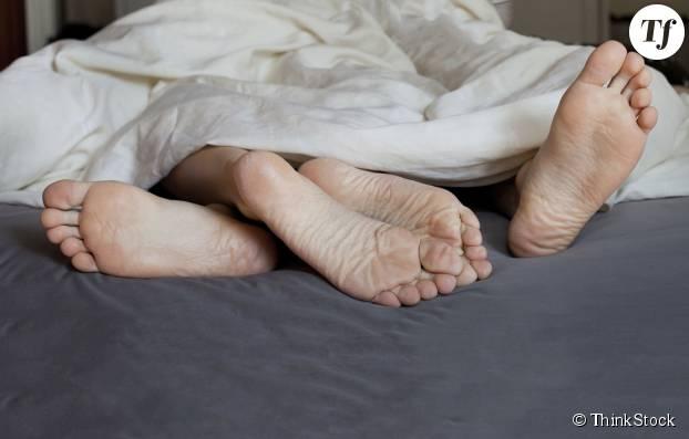 Le câlin du pied
