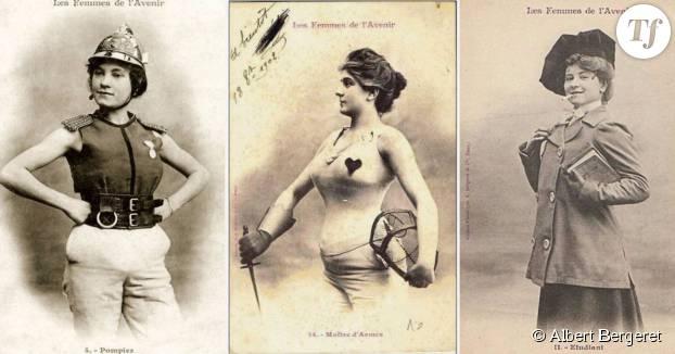 Les cartes postales misogynes d'Albert Bergeret...
