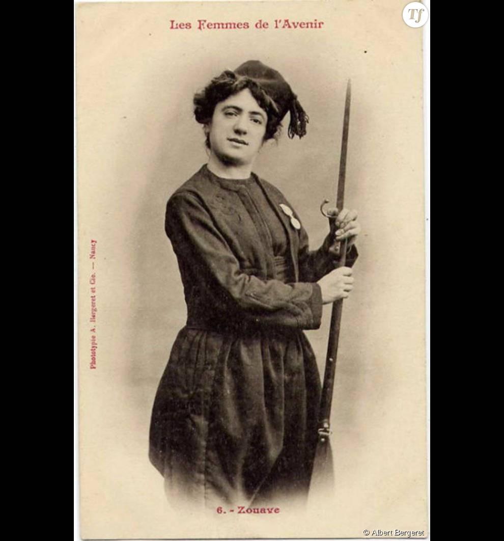 Une femme avec une arme à la main, c'était limite du jamais vu pour la bourgeoisie française de l'époque !