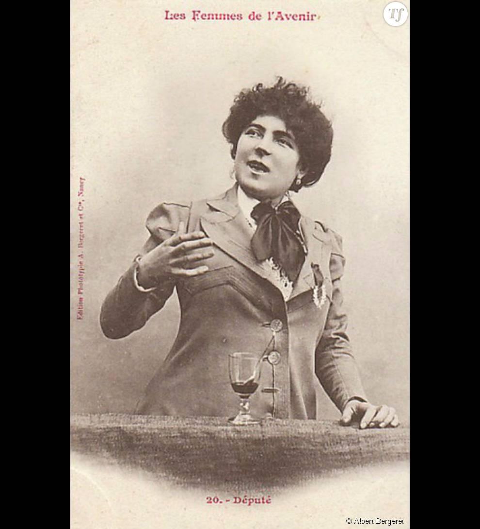 Pour se payer la têtes des femmes, Albert Bergeret avait imaginé une collection de cartes postales toute particulière.