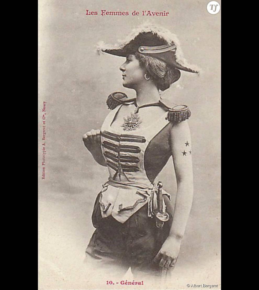 Si une femme avait véritablement été général en France, il y aurait certainement eu peu d'hommes pour l'écouter...