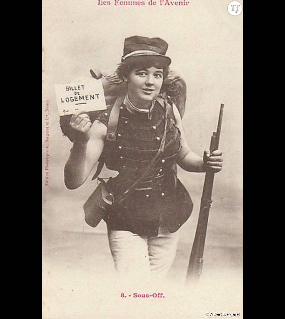 Les premières femmes à intégrer l'armée française devront attendre 1944.