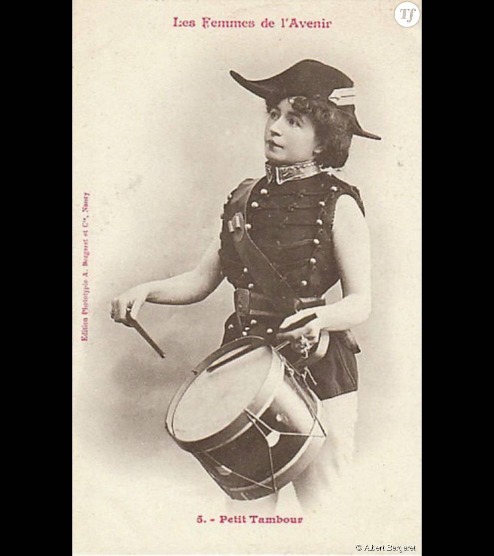 La femme était un vaste sujet de plaisanterie pour les hommes de l'époque.