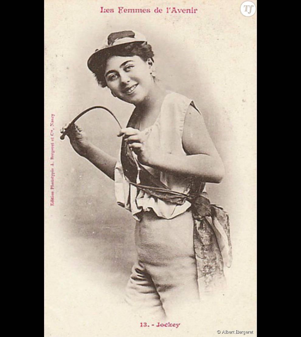 Si les inégalités persistent, on est loin du temps de 1902, où imaginer une femme jockey paraissait tout à fait invraisemblable.