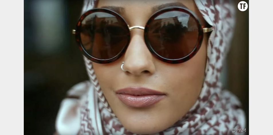 Mariah Idrissi dans la nouvelle campagne H&M
