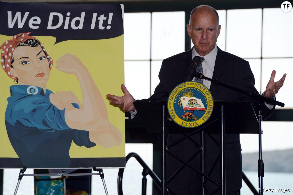 Le gouverneur de Californie Jerry Brown a adopté hier le Fair Pay Act, qui garantit l'égalité salariale entre femmes et hommes.