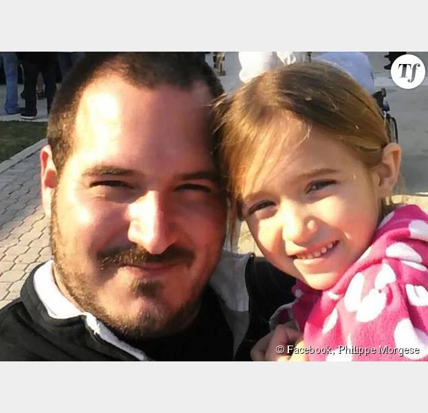 Emma est très fière de son papa, Philippe Morgese.
