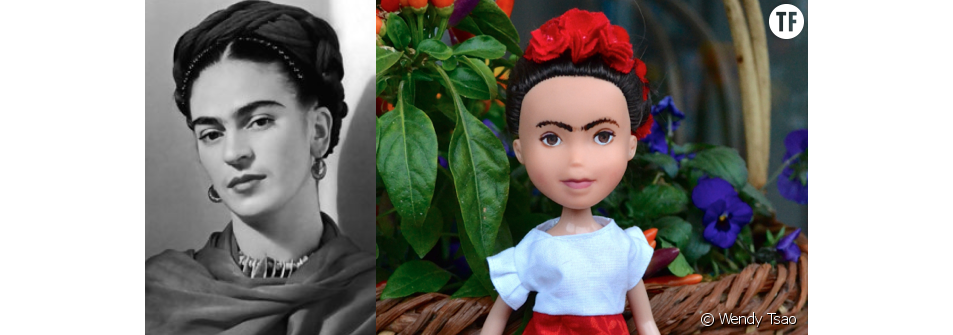 La peintre mexicaine Frida Kahlo