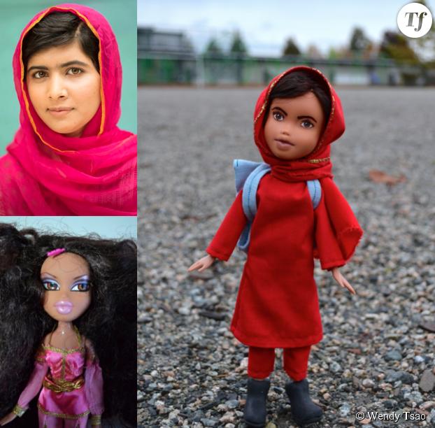 Malala Yousafzai en version poupée
