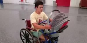 Cet ado de 16 ans va changer la vie des parents en fauteuil roulant