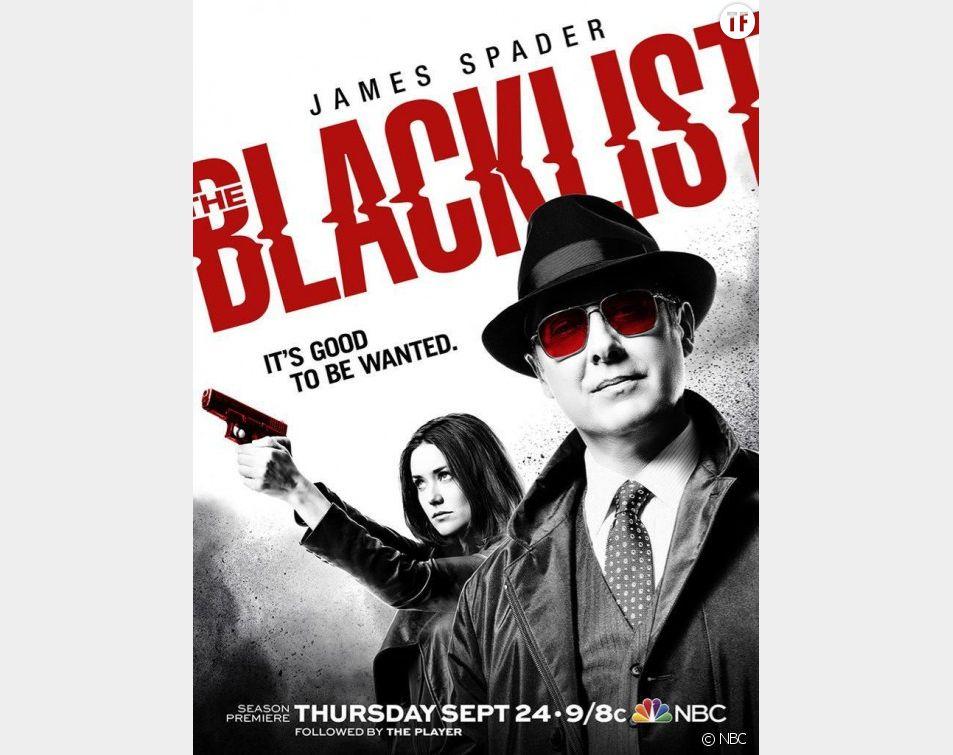 Poster de la saison 3 de Blacklist