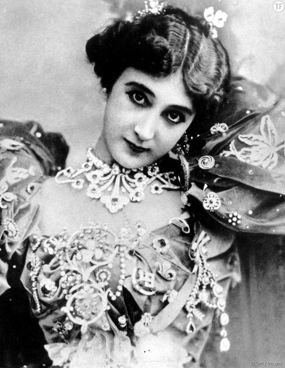 Caroline Otero alias La Belle Otero en 1907
