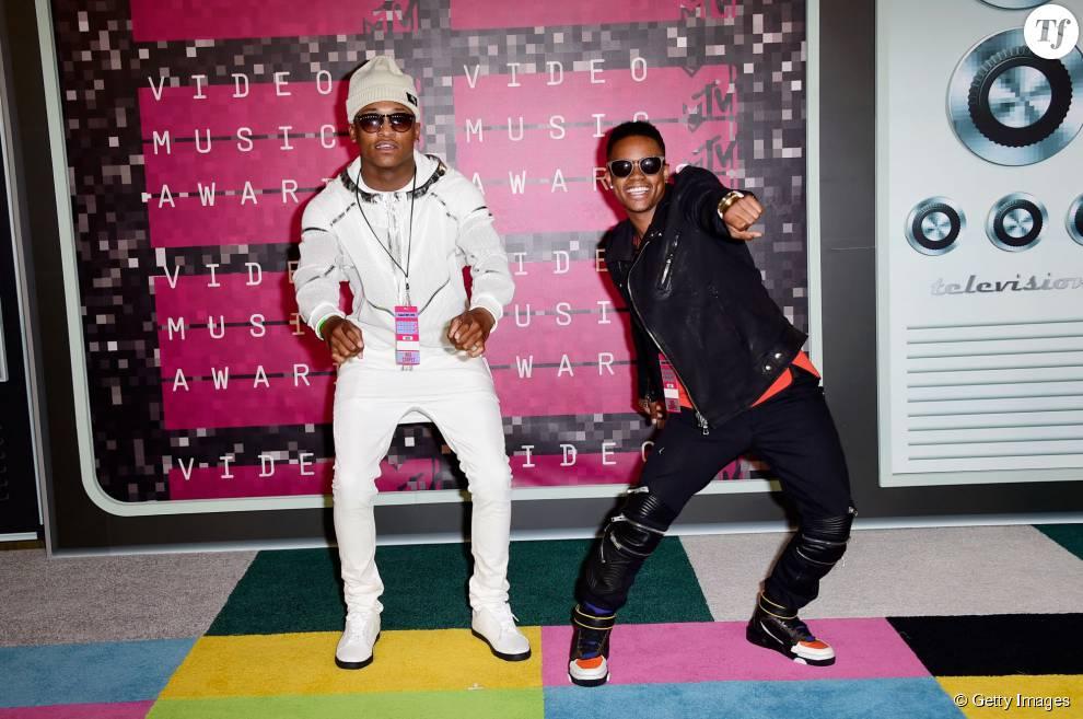 """Silentó (à droite), fait danser tout le pays grâce à sa chanson """"Watch Me (Whip/Nae Nae)""""."""