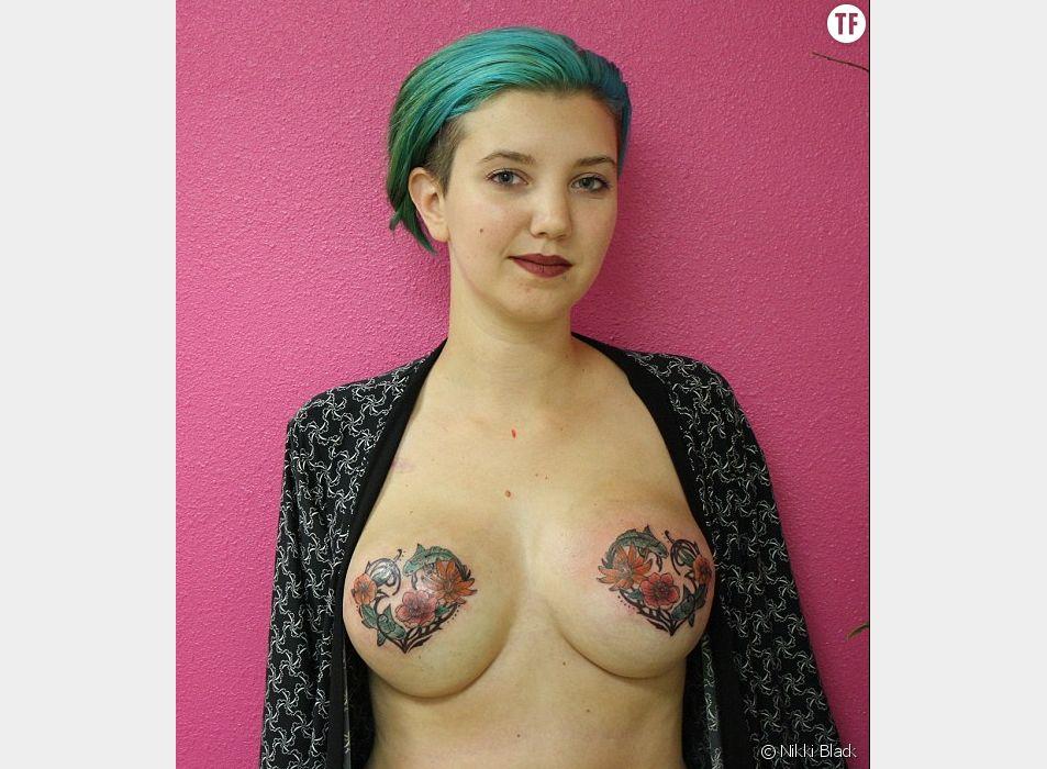 Nikki Black est ravie, grâce à ses tatouages, elle a repris le contrôle de son corps !