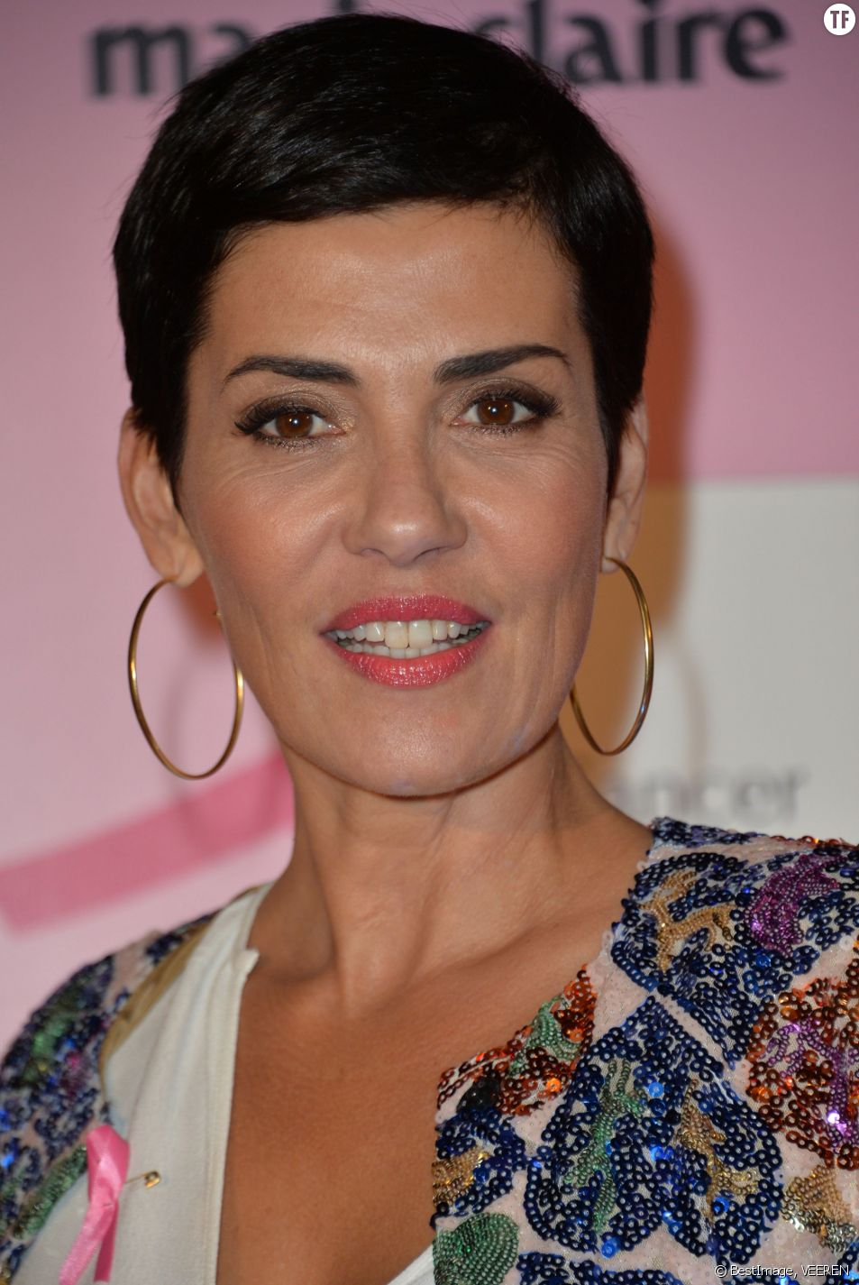 L'animatrice Cristina Cordula