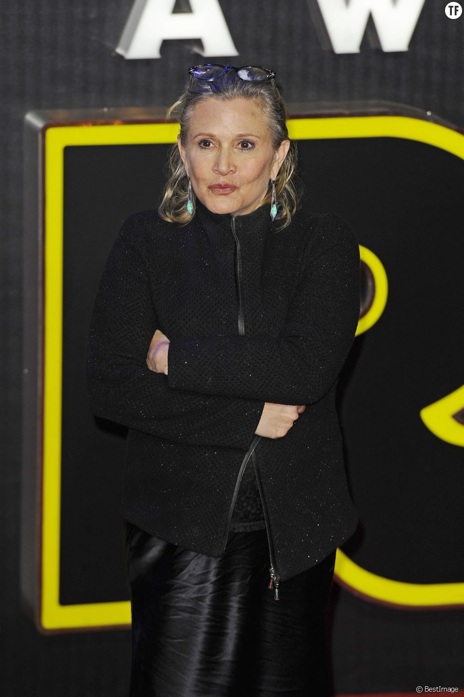 L'actrice Carrie Fisher