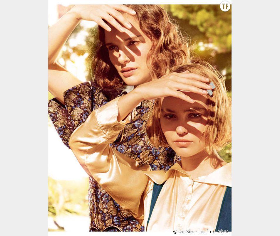 """Lily-Rose Depp : ravissante sur la première photo de son film """"Planétarium"""""""