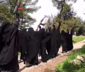 """Une jeune fille torturée à mort par les miliciennes de Daech pour cause de mauvais """"dress code"""""""
