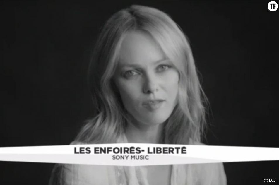 """Vanessa Paradis - clip des Enfoirés """"Liberté"""""""