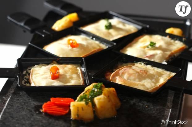 Raclette aux légumes vapeur