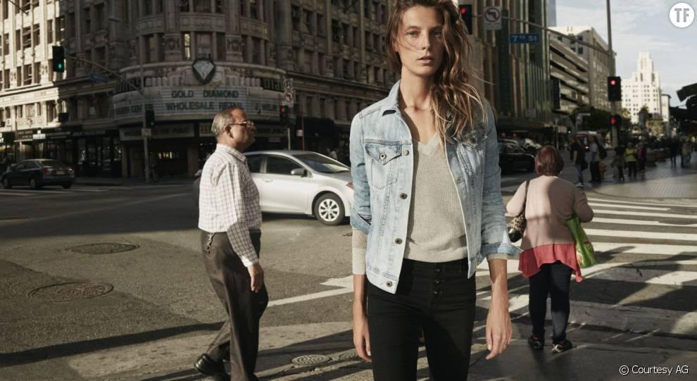 Daria Werbowy pour AG Jean