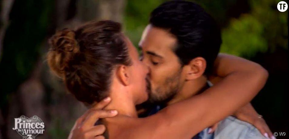Gabano et Clémence : le baiser