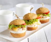 La recette gourmande des mini-hamburgers de tomates cerise