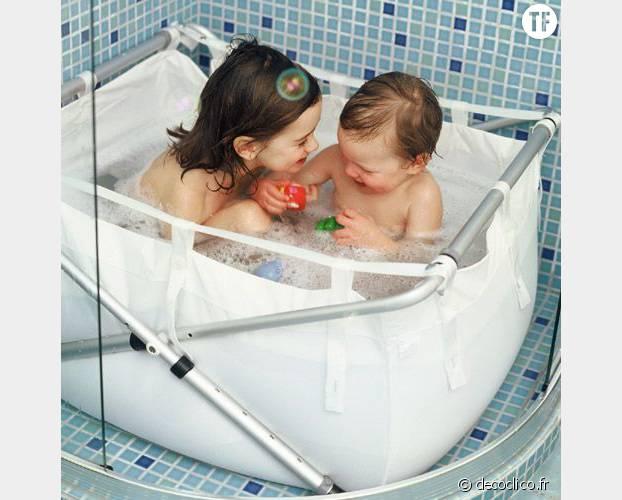Un bain dans une douche c'est possible !