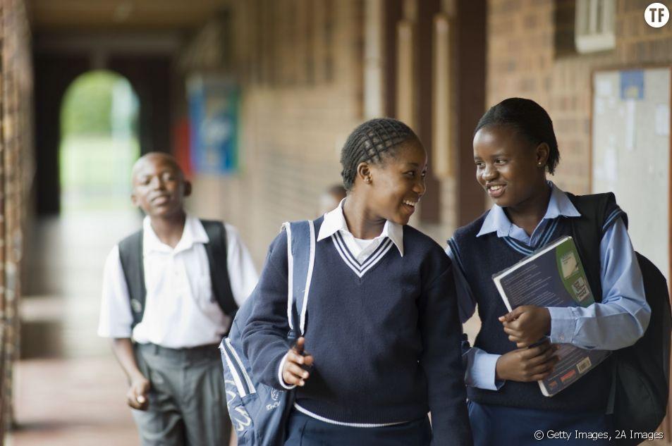 Des étudiantes en Afrique du Sud