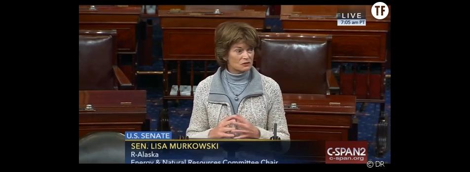 La sénatrice Lisa Murkowski mardi 26 janvier