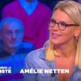 Amélie Neten sur le plateau de Derrière le poste