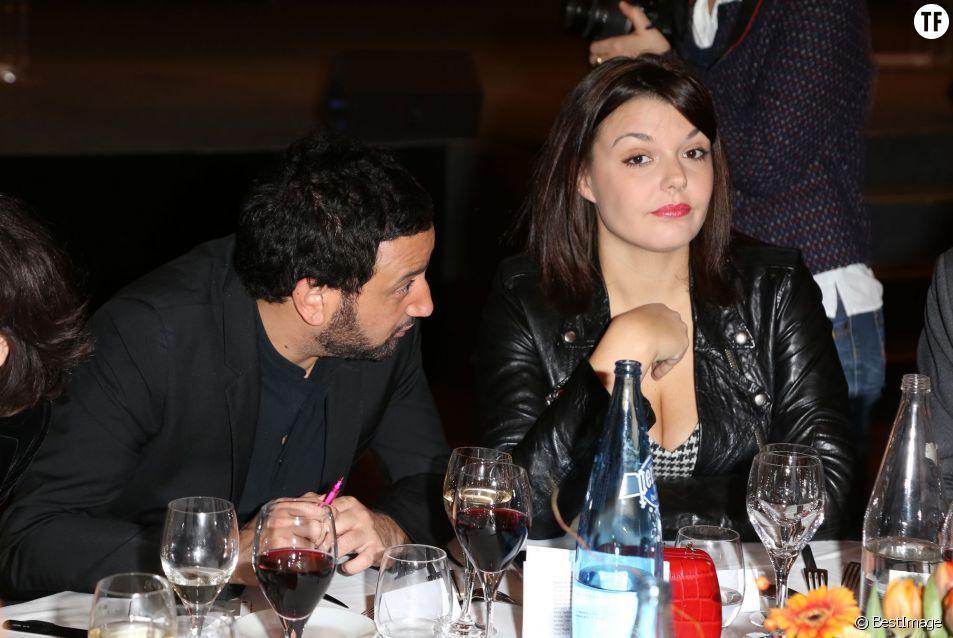 Cyril Hanouna et sa femme Emilie -  Soiree annuelle de la FIDH (Federation Internationale des Droits de l'homme) et 65eme anniversaire de la Declaration universelle des Droits de l'Homme a l'Hotel de Ville de Paris le 10 decembre 2013.