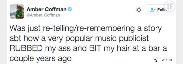 Le premier tweet d'Amber Coffman