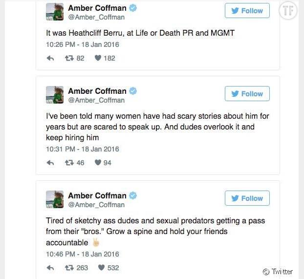 Les tweets d'Amber Coffman