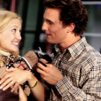 Dans  Comment se faire larguer en dix leçons , Matthew McConaughey met toute son énergie pour séduire Kate Hudson en dix jours afin de gagner un pari avec son boss