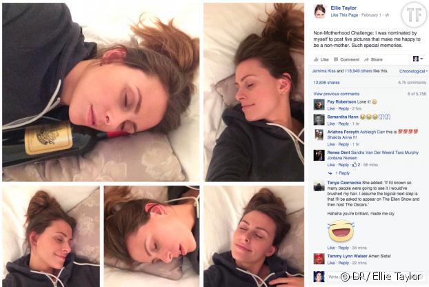 Le post d'Ellie Taylor sur Facebook
