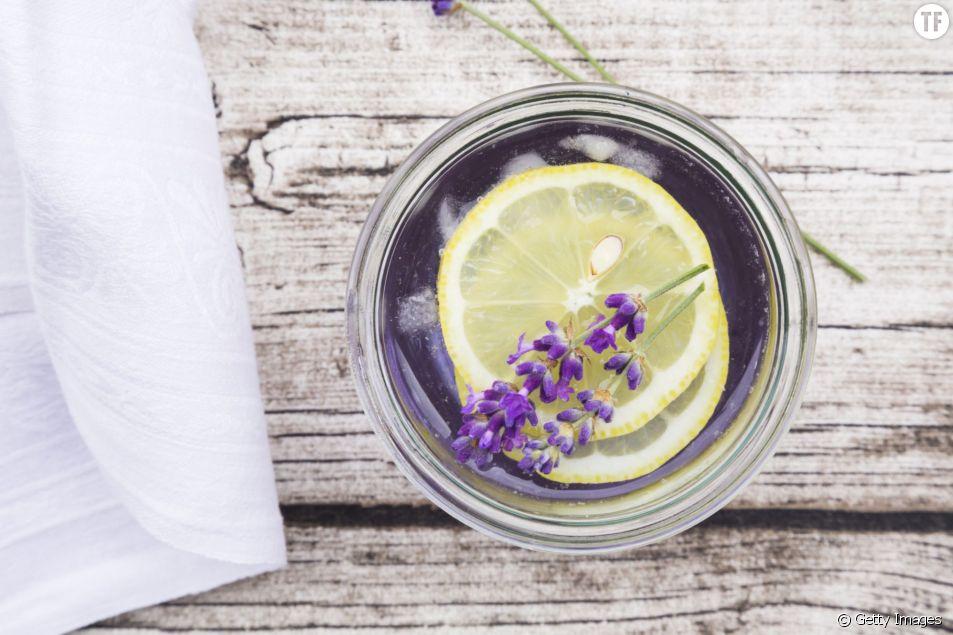 La limonade à la lavande pour calmer le stress et les maux de tête