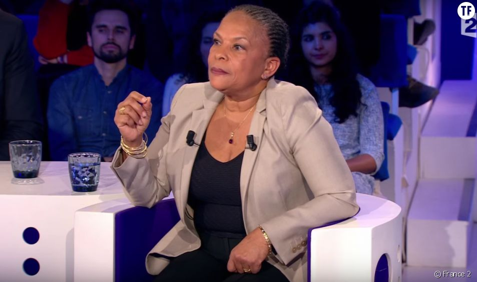 Christiane Taubira dans On n'est pas couché
