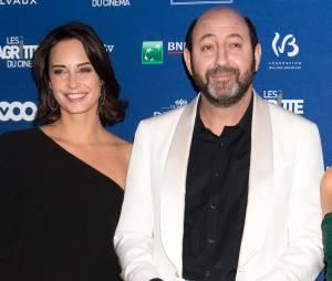 Kad Merad et sa compagne Julia Vignali - 6ème édition de la cérémonie des Magritte du cinéma à Bruxelles en Belgique le 6 février 2016.