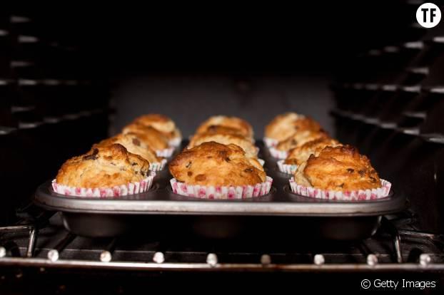 Des muffins au four
