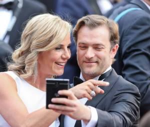 Laurence Ferrari et Renaud Capuçon - People au 68 ème festival du film de Cannes le 15 mai 2015