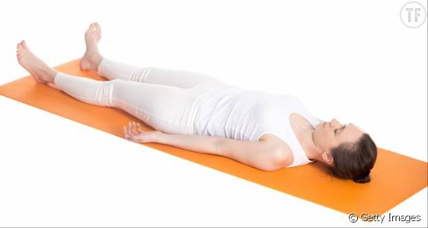 La pose du corps allongé