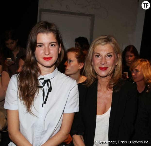 Michèle Laroque et sa fille Oriane