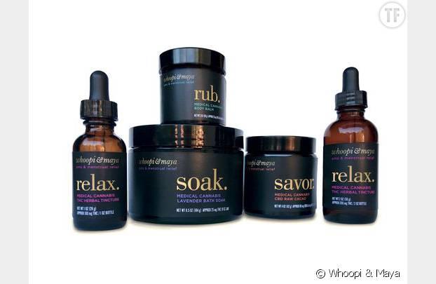 Les produits commercialisés par Whoopi & Maya à base de cannabis