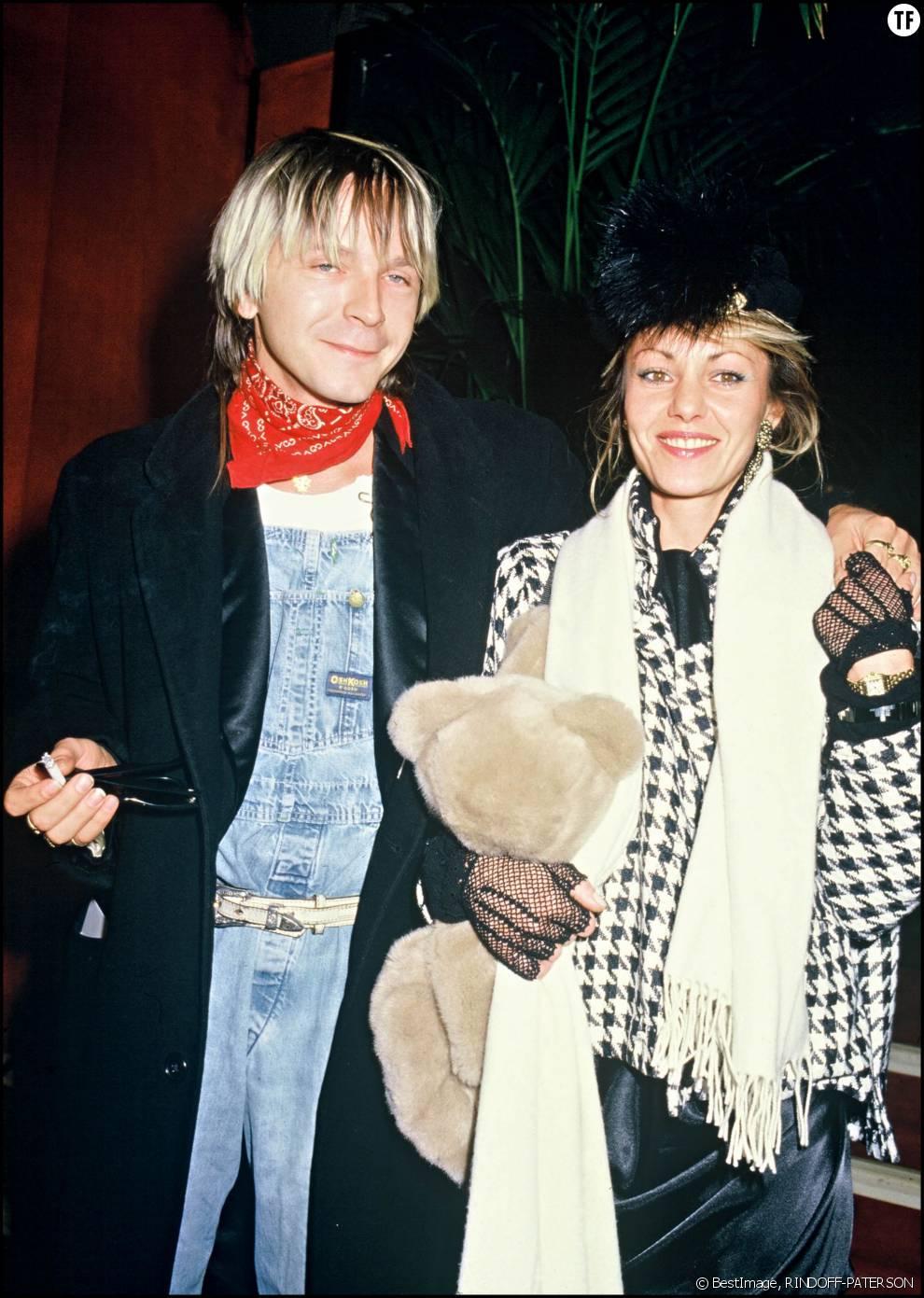Renaud et son ex-femme Dominique Lanvin en 1985