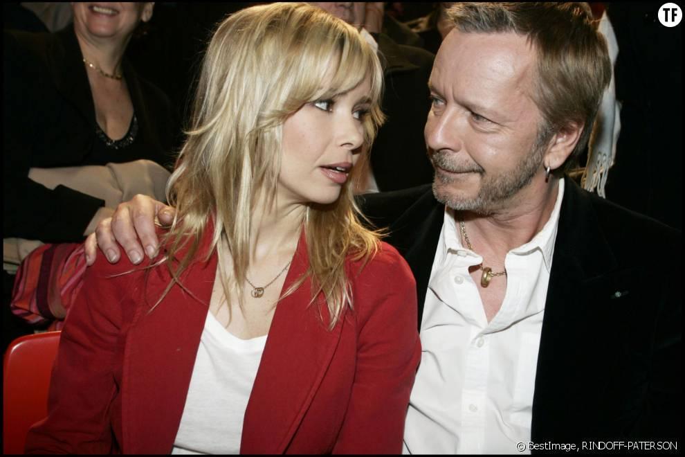 Renaud et son ex-femme Romane Serda en 2005