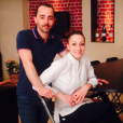 """Coline de Top Chef et son mari Julien dans leur restaurant """"La Pergola"""" à Marseille"""