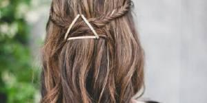 10 jolies coiffures à faire en 30 secondes